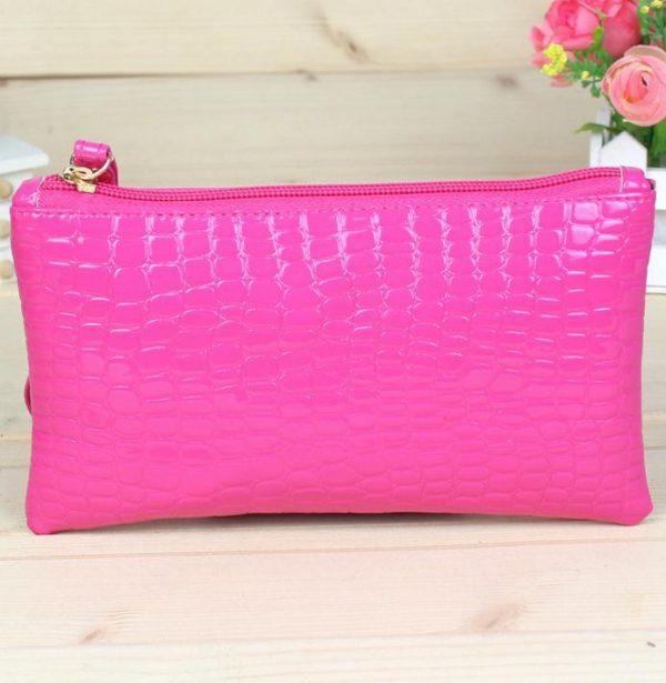 zipper change coin purse clutch wallet women