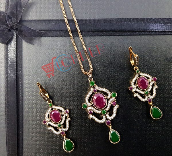 592968b0d Jewelry Sets For Women Necklace Earrings Pendant - ClicknOrder