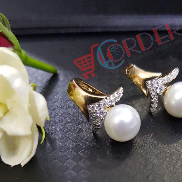 e9899e849 Pearls Stud Earrings Fashion Jewelry Brincos Pearls Crystal Earing ...