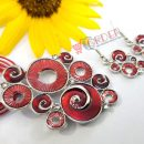 clicknorder-Jewelry Set Women's Festival Accessory Necklace Earrings