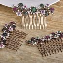 Hair Clips Comb Brooches Hijab Pins For Woman
