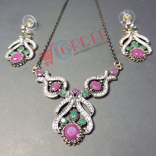 bf623c30e Necklace Set Wedding Party Jewelry set Necklace and earring ...
