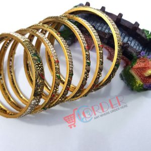6pcs set Bangles For Women Bangles Bracelet multicolor