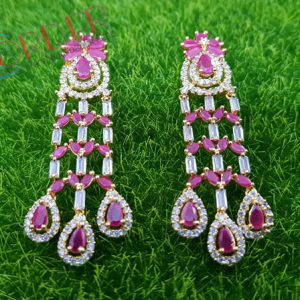Jewelry Earings Multicolor Wedding Party Women Long Earrings