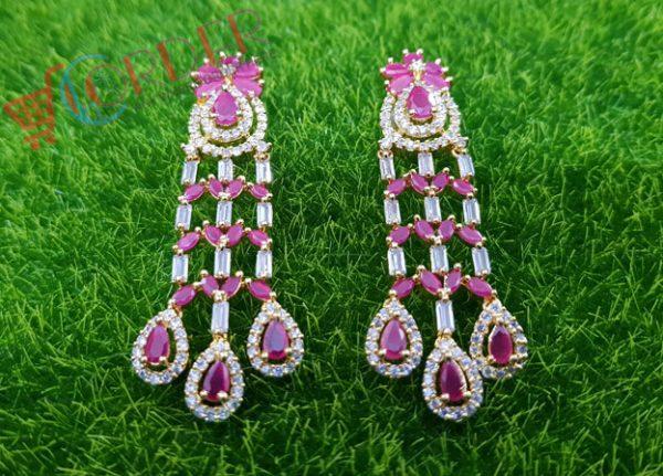 Jewelry Earings Multicolor Wedding Party Women Long Earrings