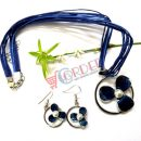 Fashion Flower Earrings and Necklace For Women