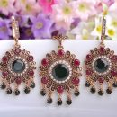 Flowers Turkish Jewelry Sets Necklace & Earrings