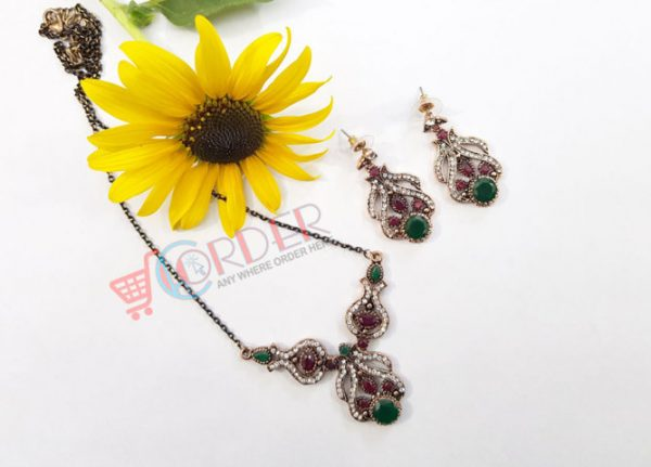 Necklace Set Wedding Party Jewelry set Necklace and earring