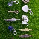 11 Pcs Vintage Metal Mixed Gears Charms For Jewelry Making