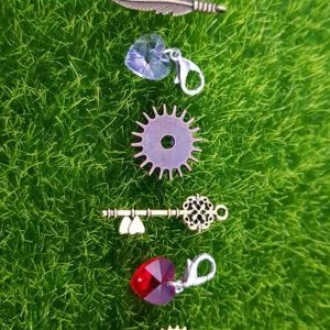 7Pcs Vintage Metal Mixed Gears Charms For Jewelry Making