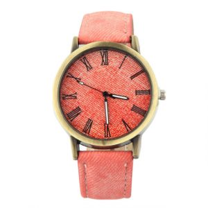 Wristwatch Jean Fabric Band Quartz Watch