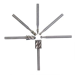 6PCS/set HSS Carving Rotary Drill Tool Mini Drill Bits