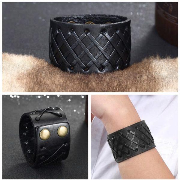Multilayer Braid Weave Rope Bracelet for Men