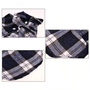 Dog Classic Plaid T-Shirts