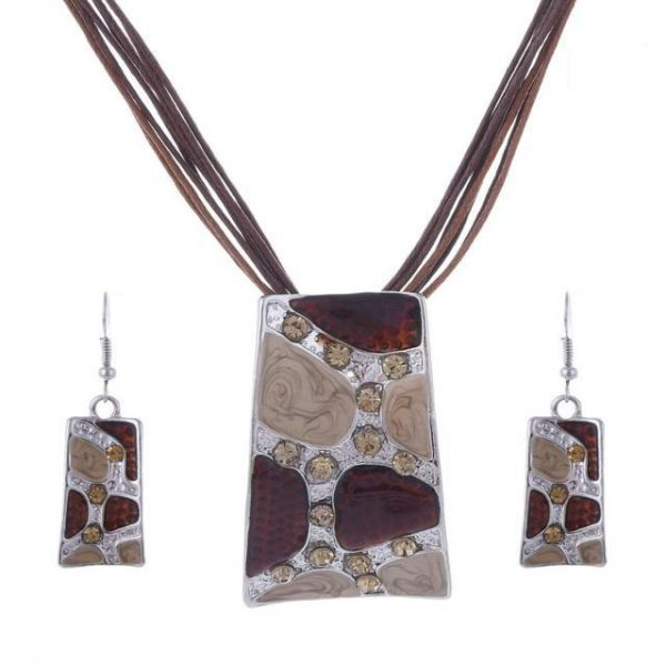 Turkish Jewelry Pendant Erring Jewelry Set