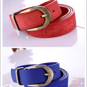 Leather women belt high quality
