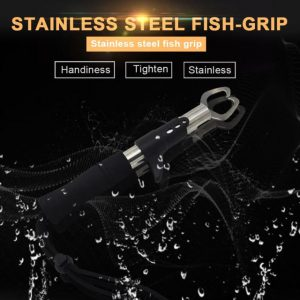 Strong Stainless Steel One-Handed Operation Fish Grip