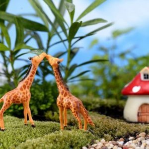 Cute Giraffe Animal Miniature