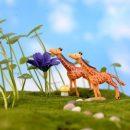 Cute Giraffe Animal Miniature