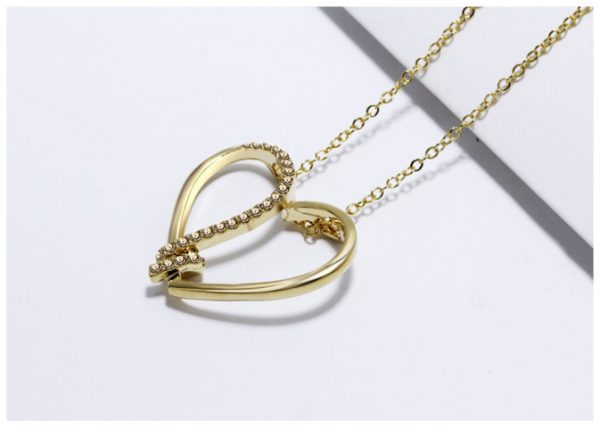 Heart Pendant Color Gold/Silver – Gold