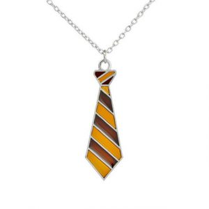 Harry Potter Gryffindor tie necklace