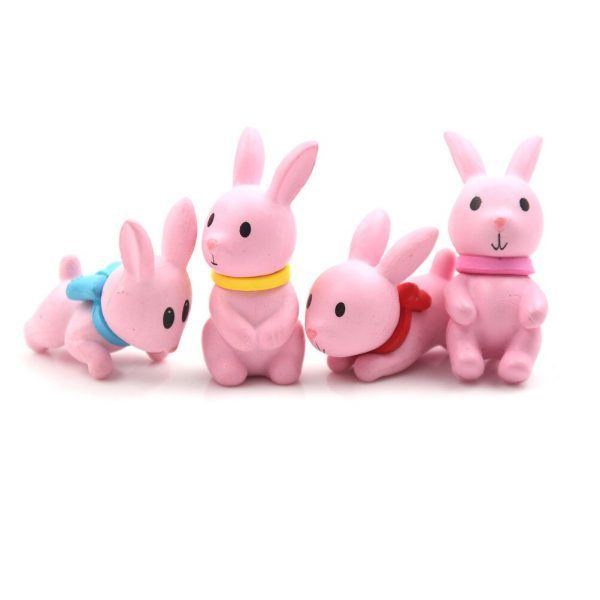 Mini Pink Rabbit Miniatures
