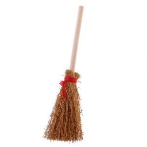 Plastic Miniature bamboo broom