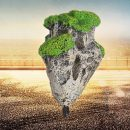 Decoration Floating Pumice Suspended Stone